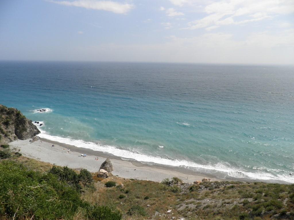 cala del pino, beach, playa, malaga