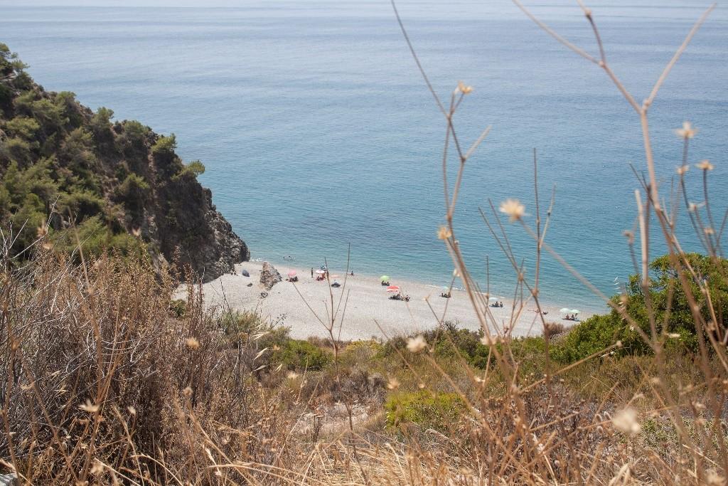 maro beach, playa, malaga