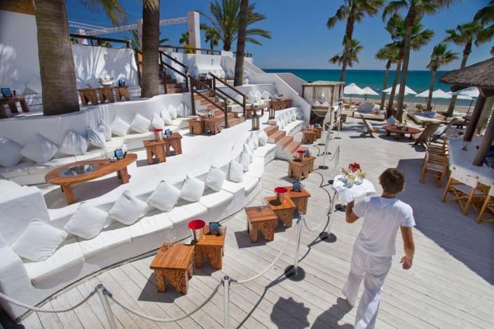 nikki beach, marbella, beach club, playa