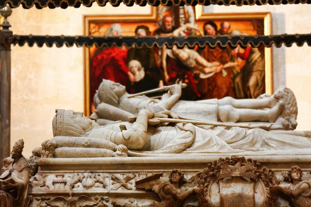 ferdniand, isabel, reyes catolicos, granada, capilla real, royal chapel