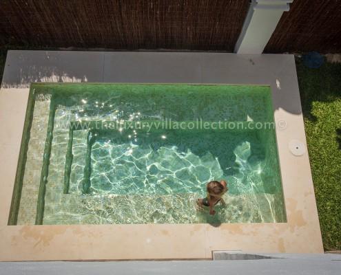 Contemporary family villa rental