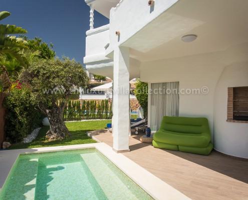 Family contemporary villa rental Marbella
