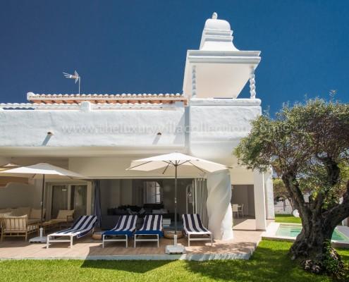 Marbella small luxury beach villa
