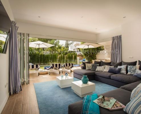 Marbella Bahia luxury family villa to rent