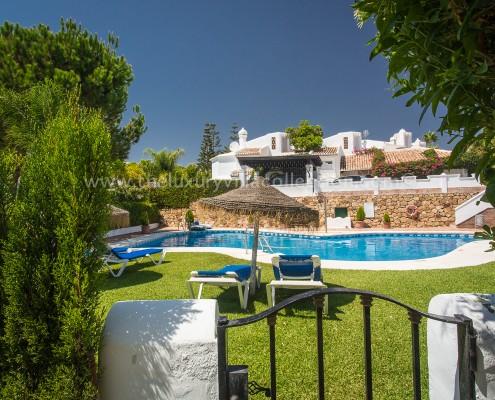 Marbella Bahia villa rental family pool