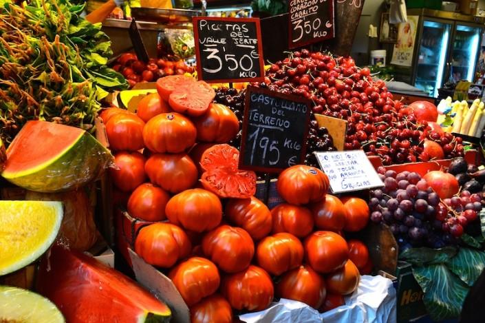 atarazanas market, fruit, vegetables