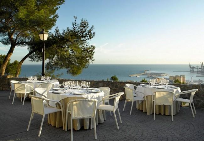 Malaga Parador Restaurant