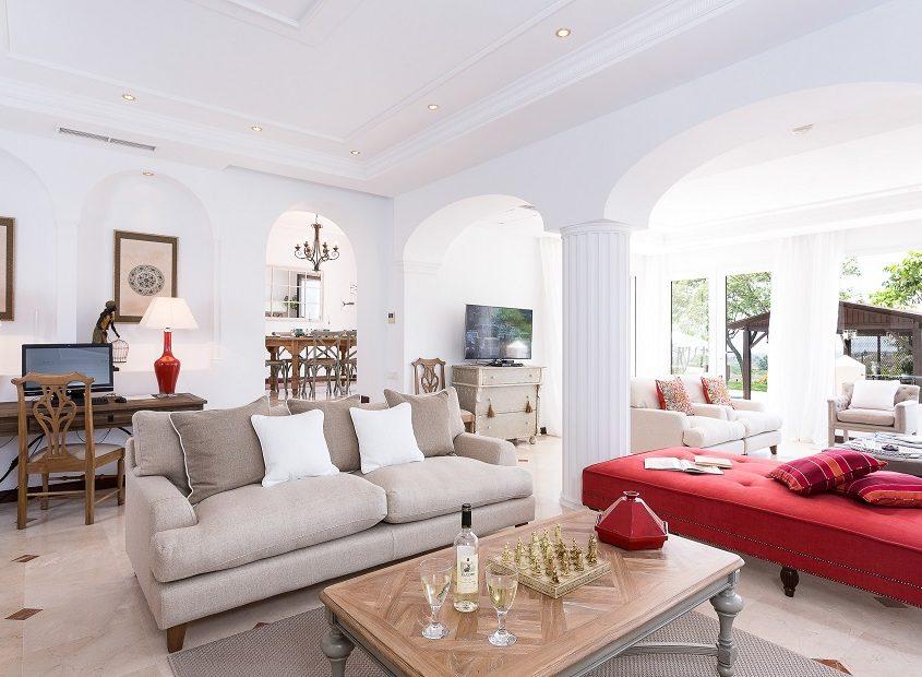 Villa Kenia, Living Room