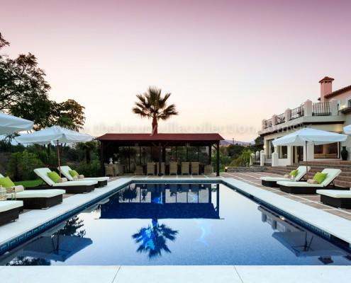 Luxury Estepona Villa pergola