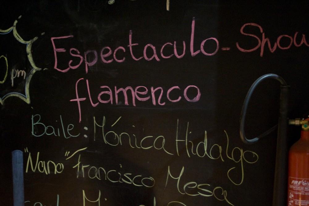 flamenco show, promotion