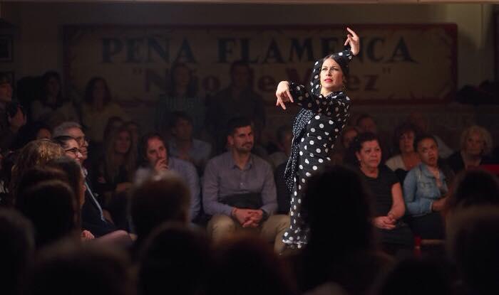 flamenco dancer velez