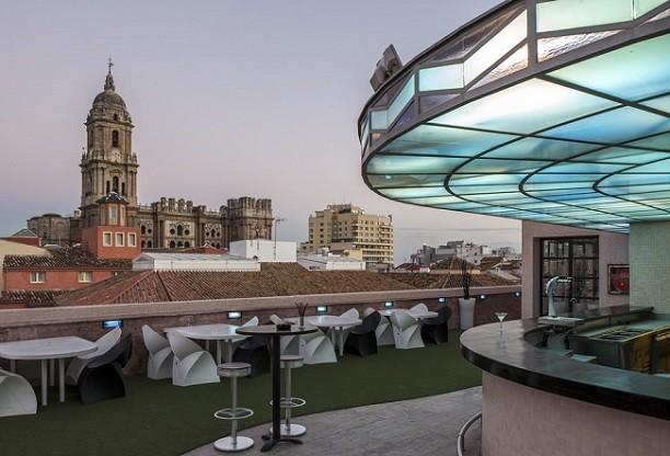rooftop terrace hotel larios