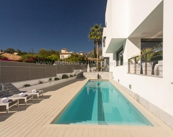 Villa Solise lap pool