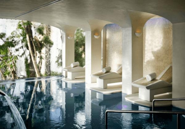 Pool at Six Senses Spa Marbella