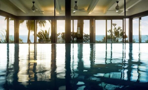 Saltwater indoor pool at Thalasso Spa
