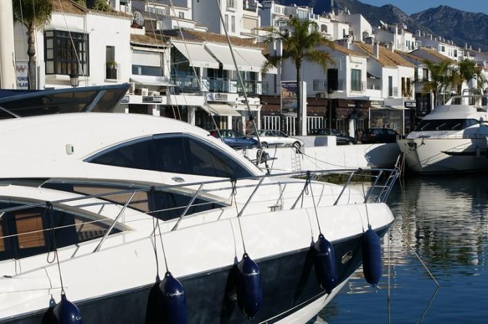puerto banus waterfront shops
