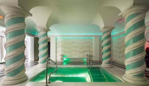Dipping Pool At Villa Padierna Spa