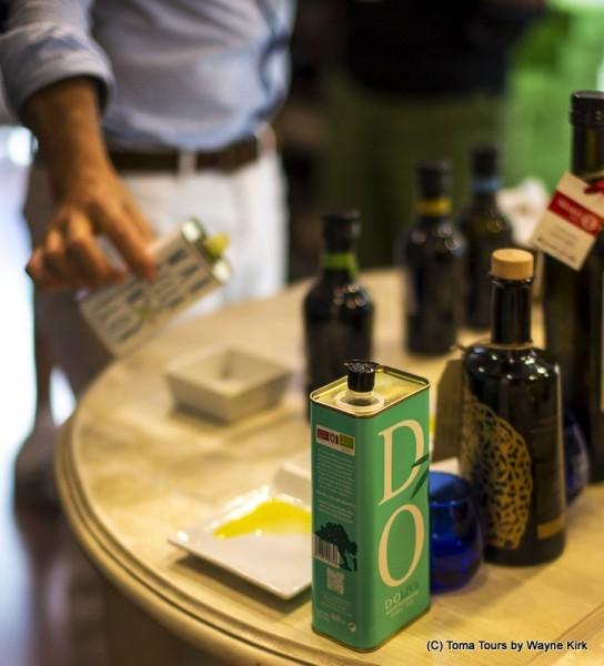 DOliva gourmet wine shop Marbella