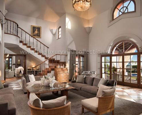 La Zagaleta Villa Vivaldi living room