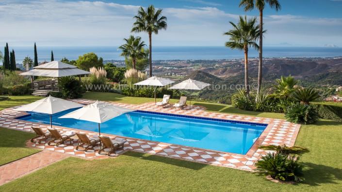 La Zagaleta Villa Vivaldi pool sea views
