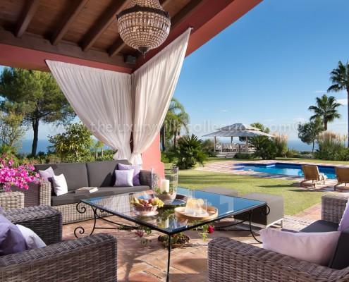 La Zagaleta luxury Villa Vivaldi terrace