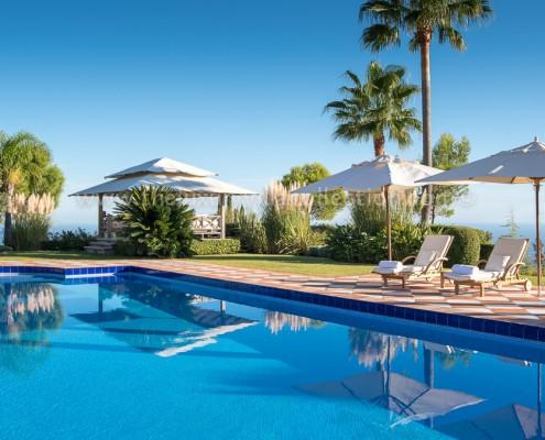Luxury La Zagaleta Villa Vivaldi private pool