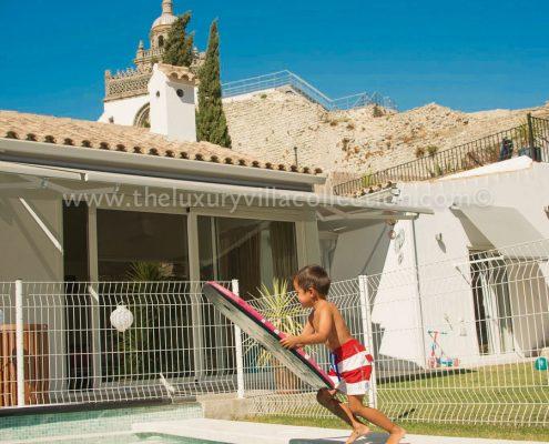 Villa La Medina, Cadiz family pool