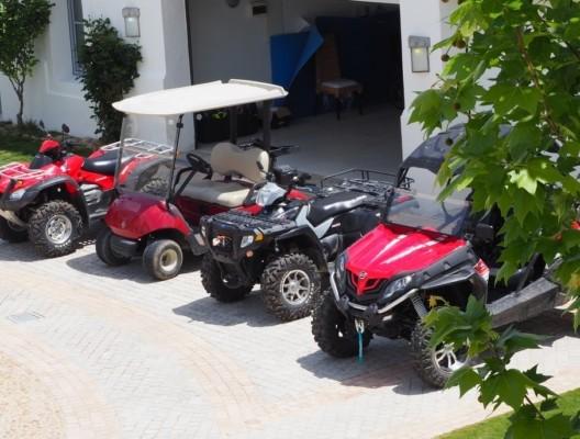 The Retreat quadbikes