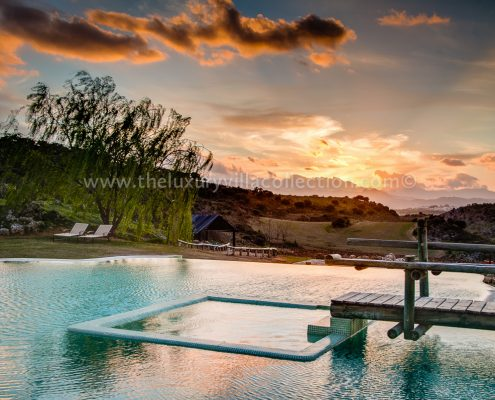 The Retreat modern luxury villa Ronda