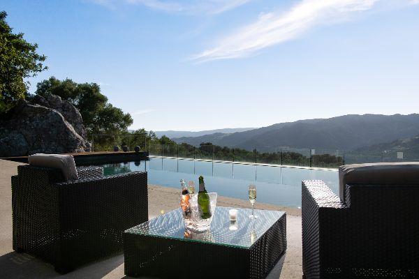 View from Pool at Villa Nido