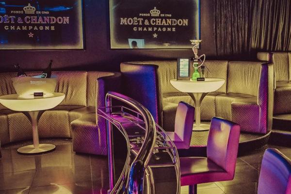 Aqwa Mist Marbella Nightclub Booths