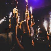 Olivia Valere Nightclub Champagne