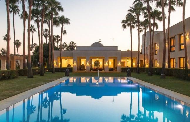 Villa Karima Sotogrande pool