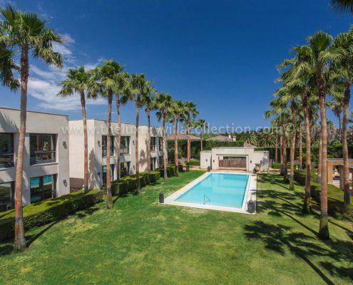 Villa Karima Sotogrande villa pool