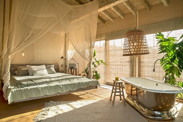 bedroom at villa bahia