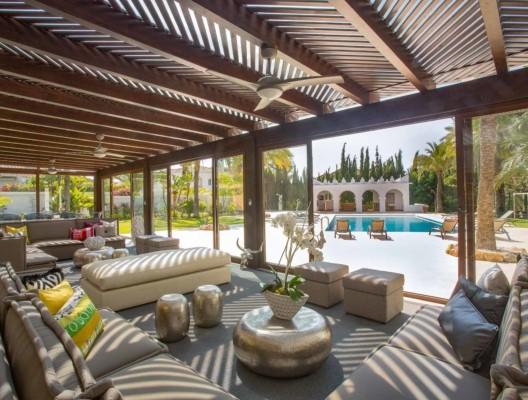 Villa Malibu Marbella lounge