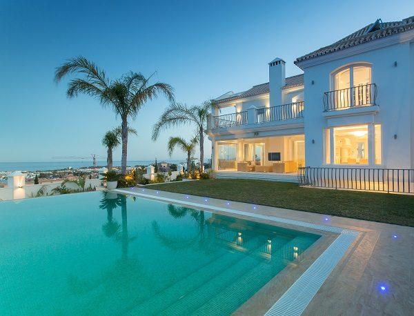 villa diamante private pool