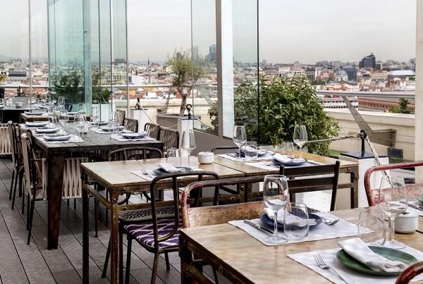 Azotea Restaurant, Madrid
