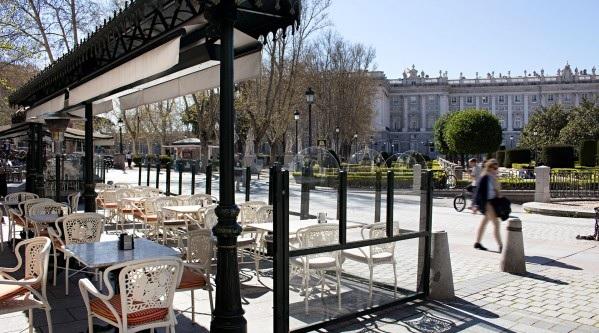 Cafe de Oriente, Madrid