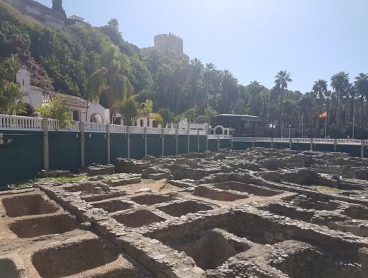 Roman ruins in Almunecar