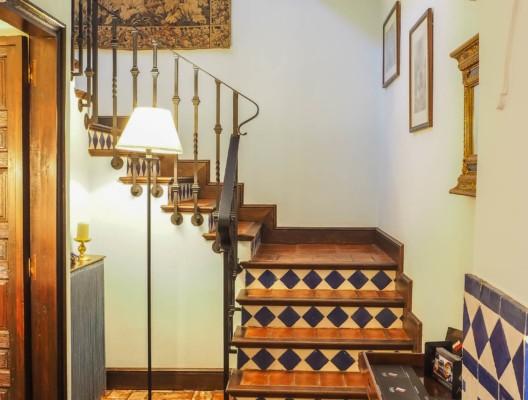 Cortijo Alondra Ronda Antique Staircase