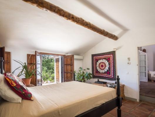 Cortijo el Mirador Malaga master bedroom