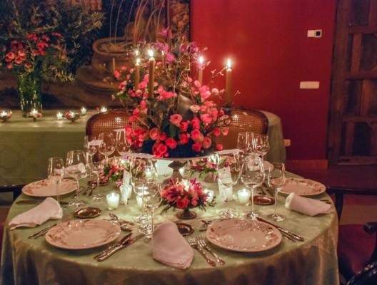 Finca del Rey Dining in style