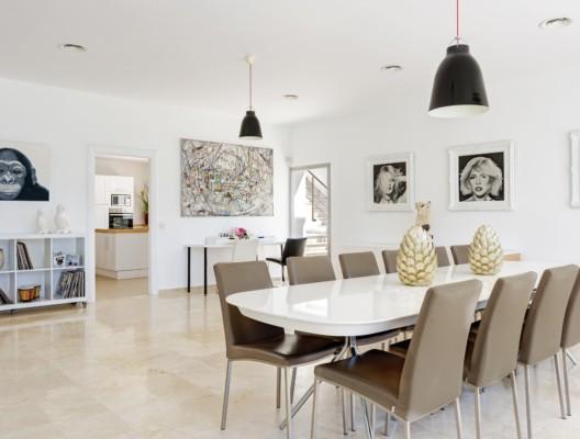 Villa Artea Sotogrande light interiors