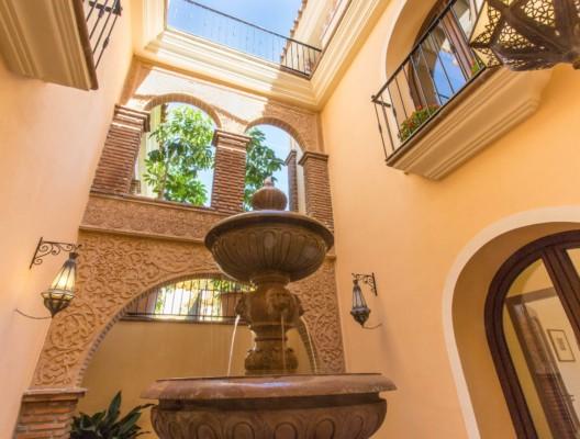 Villa Kalinda Marbella family villa Moroccan features
