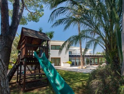Villa Malibu for kids