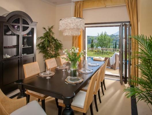 Villa Roma Marbella villa rental dining