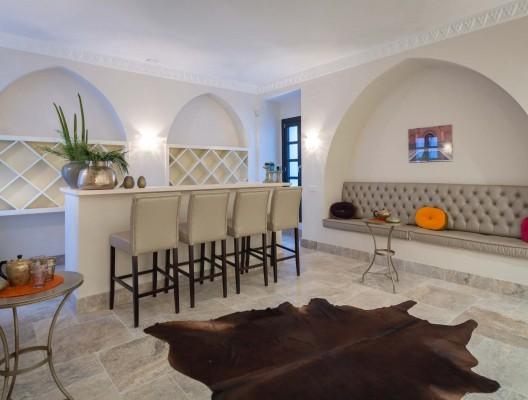 13 Villa Chantay luxury villa rental Moroccan lounge