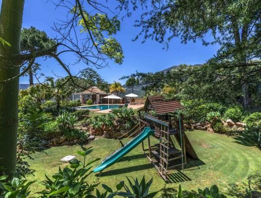 9 Kids play Villa Loren luxury family villa