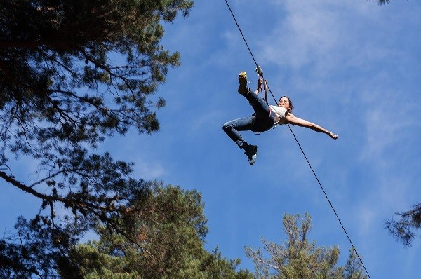 Tree top adventure - Zipwire